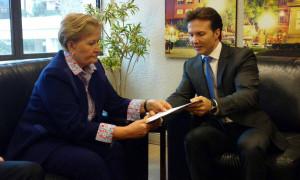 Prefeito de Caxias do Sul pede apoio para liberação de recursos que serão investidos em estradas do interior