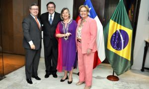 Relação comercial entre Brasil e Chile é ressaltada na embaixada Chilena