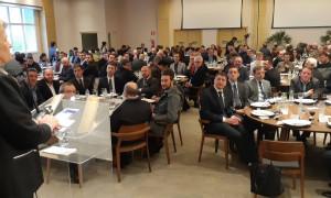 Em reunião-almoço na CIC, lideranças falam de preocupação com a BR-470