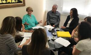 Ana Amélia vai levar demandas da Sociedade Gaúcha de Nefrologia ao Ministro da Saúde