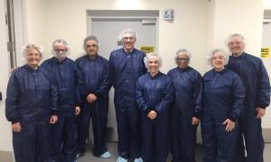 Ana Amélia visita um dos maiores centros de pesquisa de medicamentos biológicos do mundo