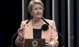 Ana Amélia comemora aprovação de seu projeto sobre cumprimento de sanções da ONU