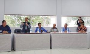 Em São Martinho, prefeitos da Amuceleiro entregam demandas para senadora