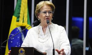 Ana Amélia pede rapidez para julgamento da chapa Dilma-Temer no TSE