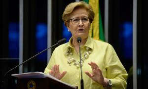 Ana Amélia reforça alerta de Moro sobre projetos que fragilizam instituto das delações premiadas