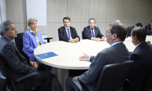 Comitiva de Rio Grande busca reversão da revogação para instalar Usina Termelétrica