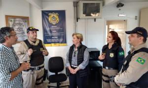 Agentes da PRF agradecem atuação da senadora Ana Amélia para atender demandas da categoria