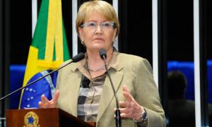 Ana Amélia questiona decisão de Fachin de retirar do juiz Moro investigação contra Lula
