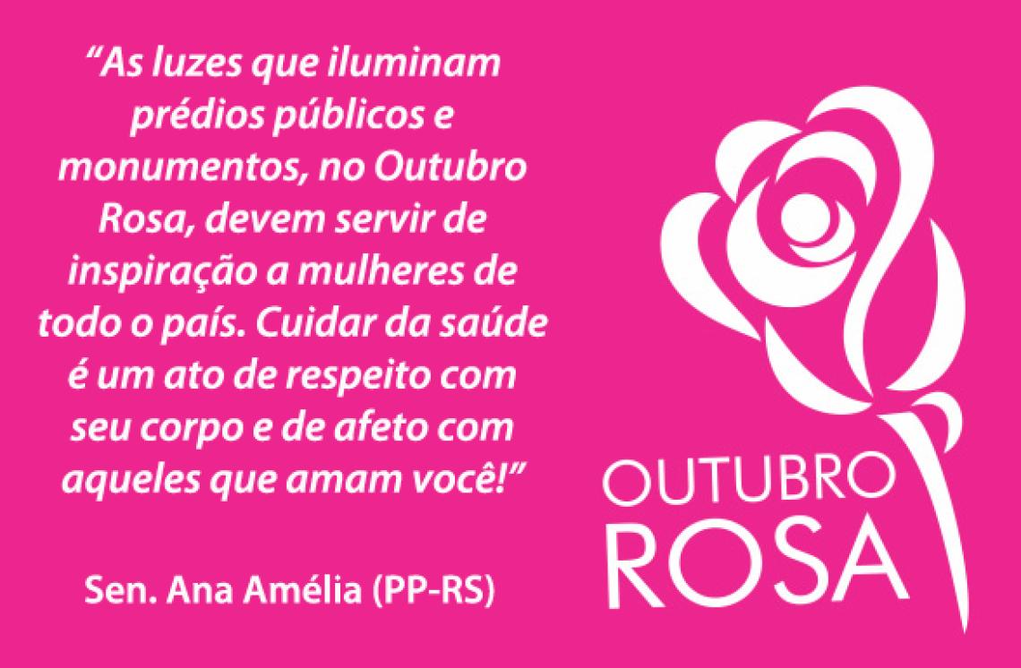 Congresso lança campanha Outubro Rosa contra o câncer de mama