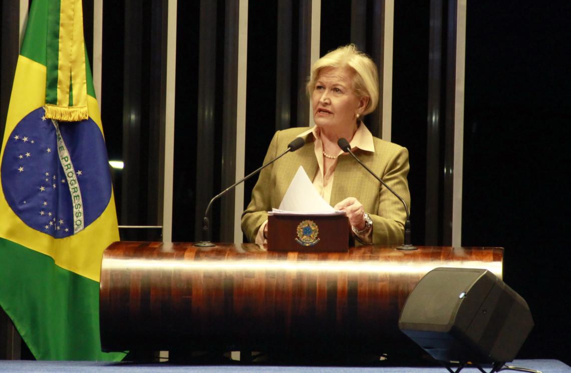 Senadora pede auxílio imediato do governo aos municípios atingidos pela chuva no Rio Grande do Sul