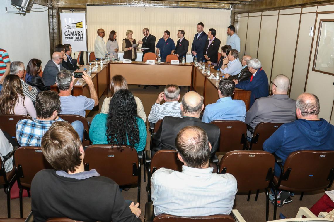 Ana Amélia participa de encontro da Frente Parlamentar da Micro e Pequena Empresa da Câmara de Caxias do Sul