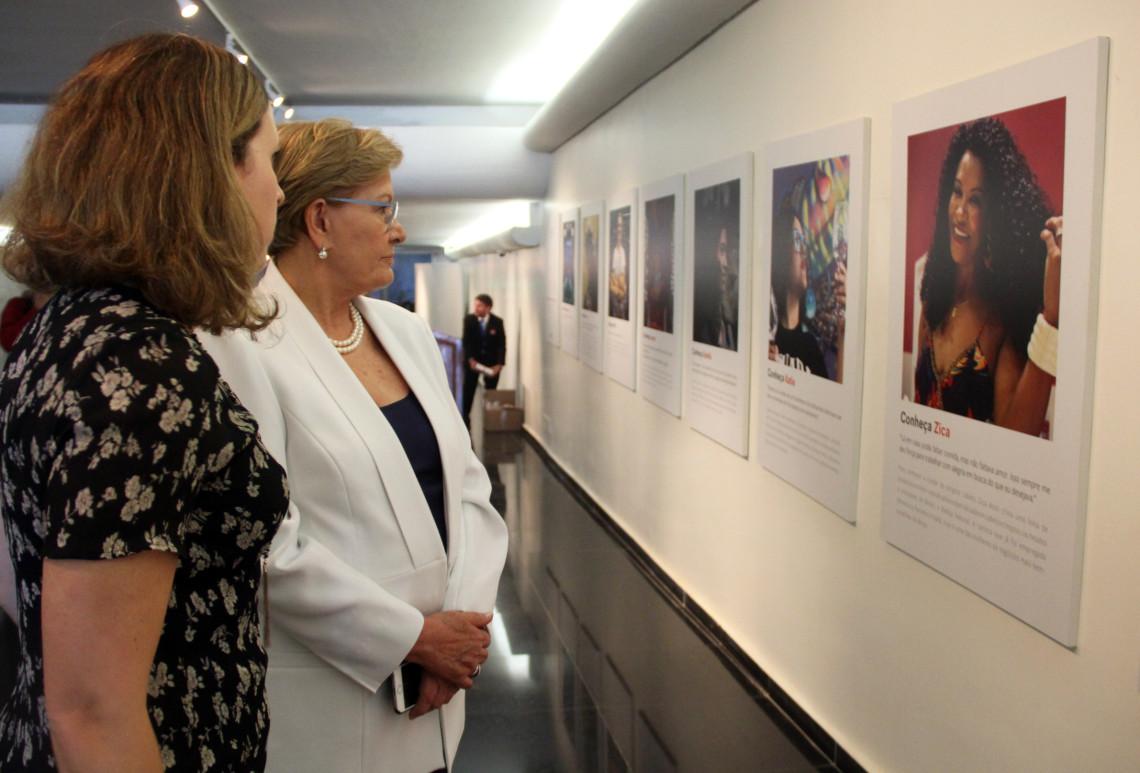 Exposição do Facebook #ElaFazHistória retrata trajetória de mulheres de destaque