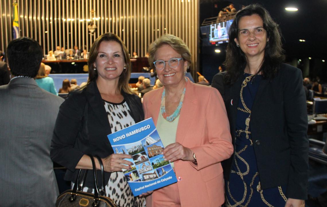 Prefeita de Novo Hamburgo busca apoio para prorrogação de empréstimo junto ao BID
