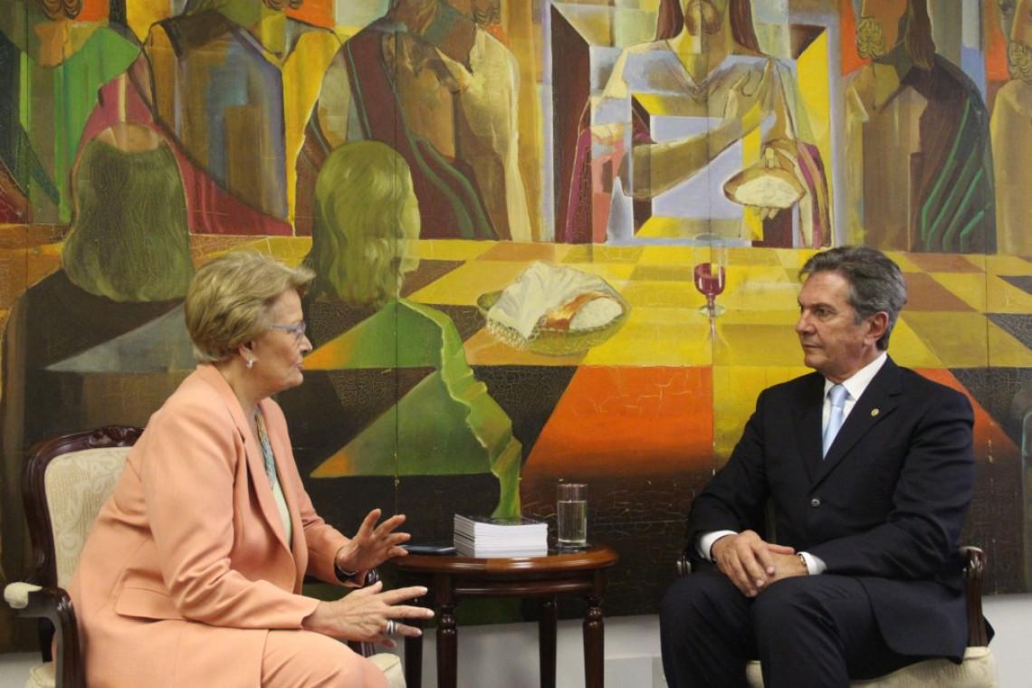 Senadora solicita reativação do grupo parlamentar Brasil-Argentina