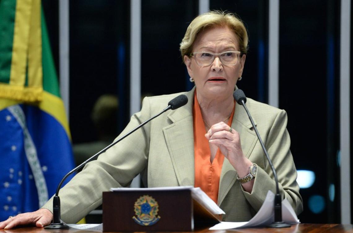Brasil precisa de responsabilidade fiscal, afirma Ana Amélia
