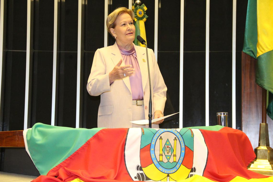 50 anos do Movimento Tradicionalista Gaúcho são celebrados em sessão no Congresso Nacional