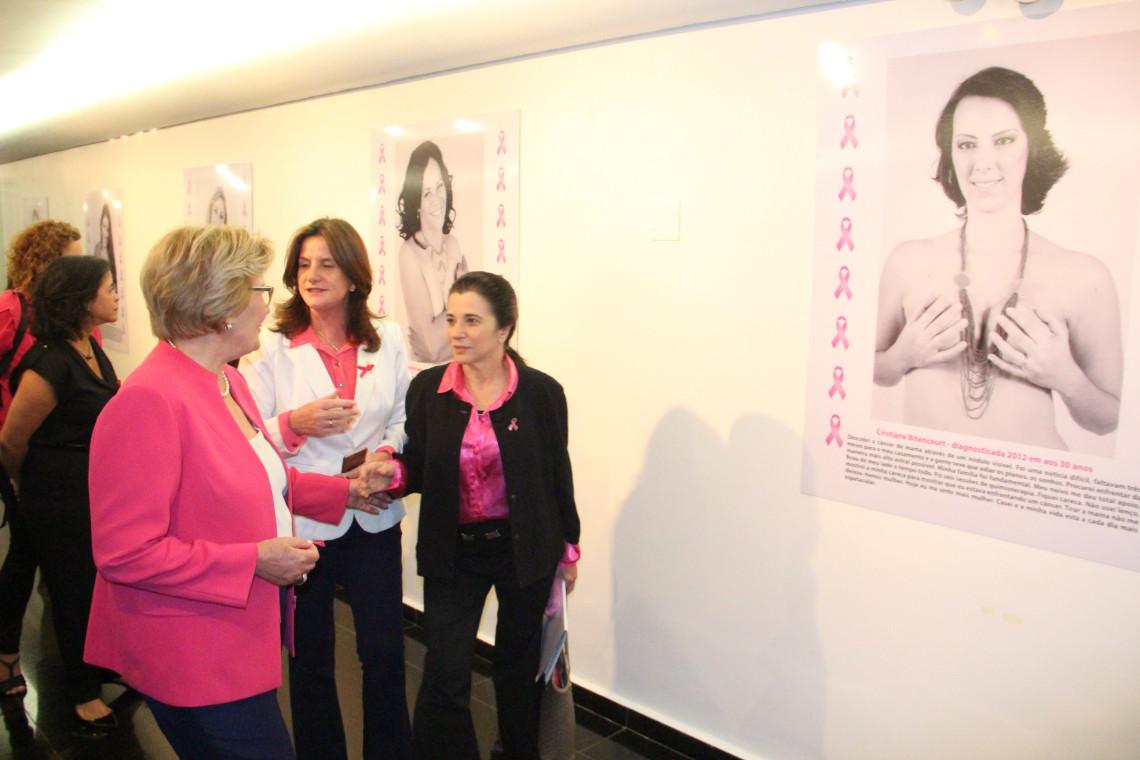 Senado promove campanha Outubro Rosa contra o câncer de mama