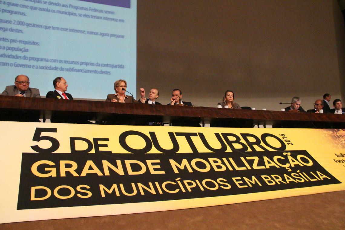 Prefeitos apresentam reivindicações municipalistas no Senado