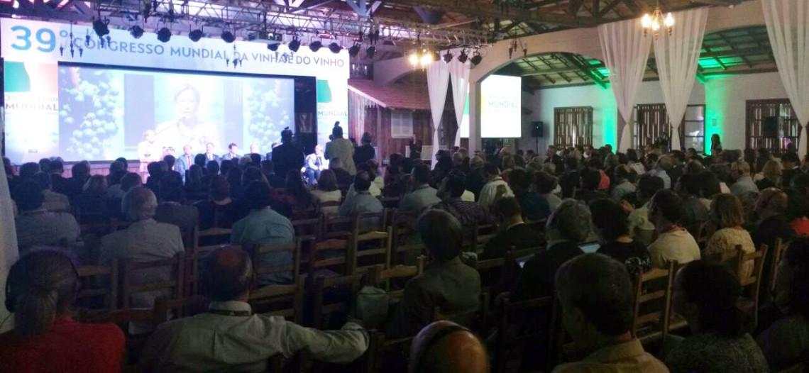 Na abertura do 39º Congresso Mundial da Vinha e do Vinho, Ana Amélia pede sanção sem vetos da lei que inclui vinícolas familiares no Simples Nacional