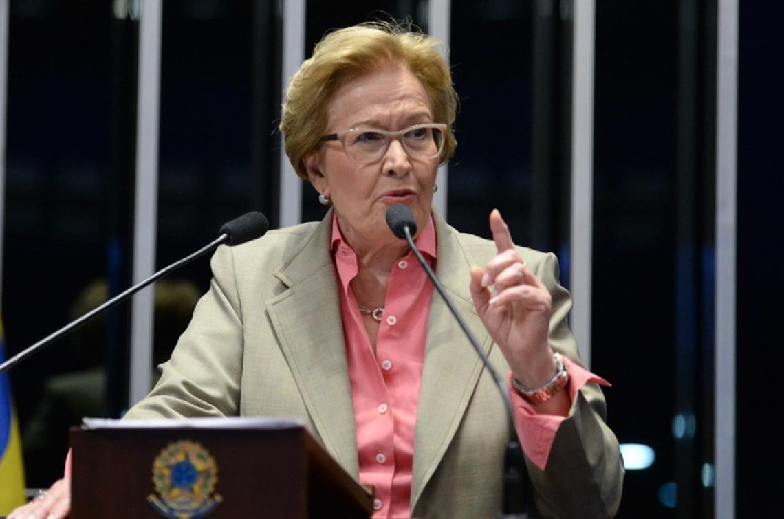 Ana Amélia obra votação das 10 Medidas de Combate à Corrupção