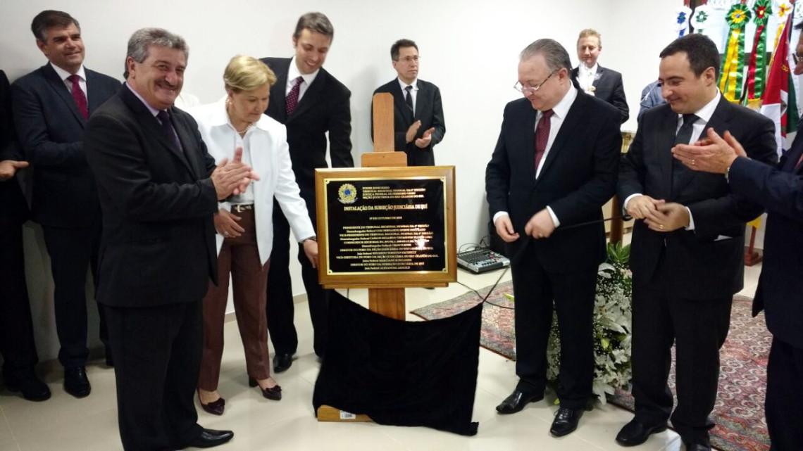 Inaugurada Vara da Justiça Federal em Ijuí