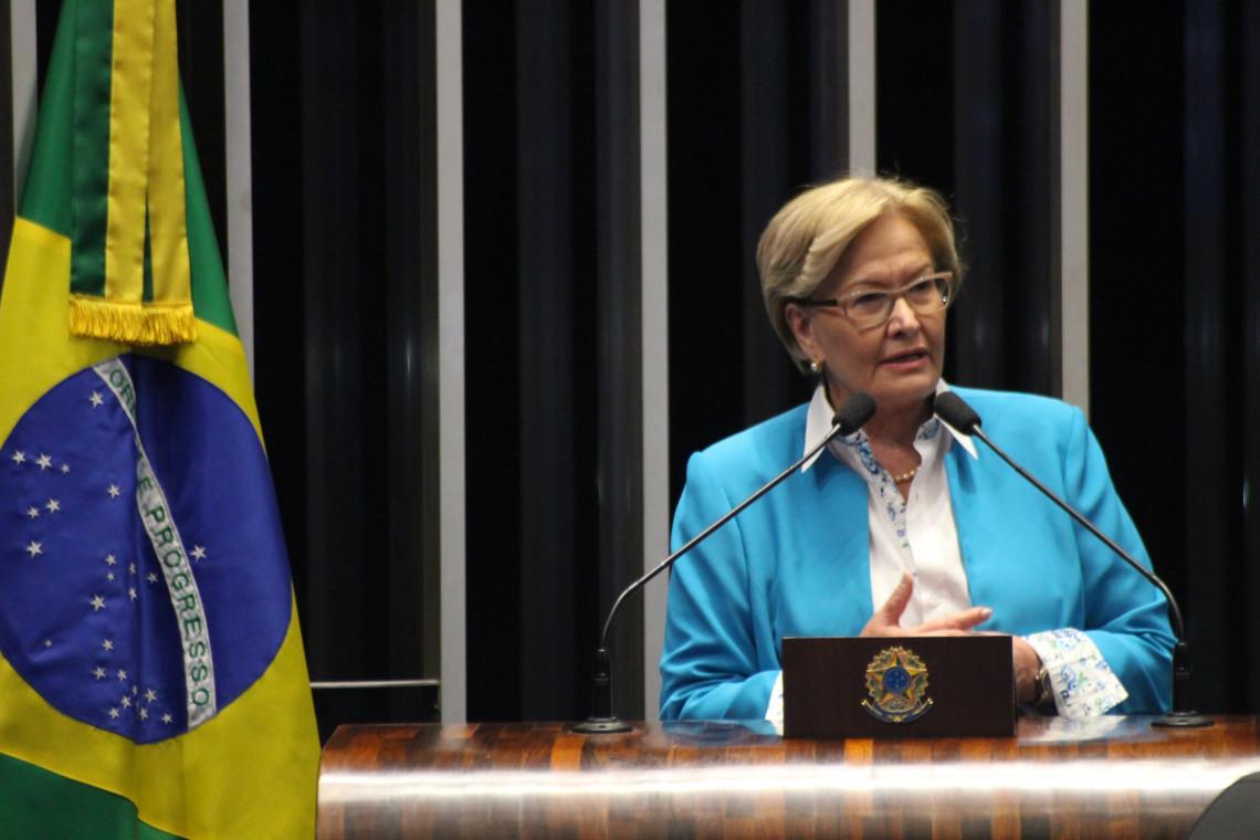 Ana Amélia diz que derrota do PT nas eleições esvazia a tese de 'golpe'