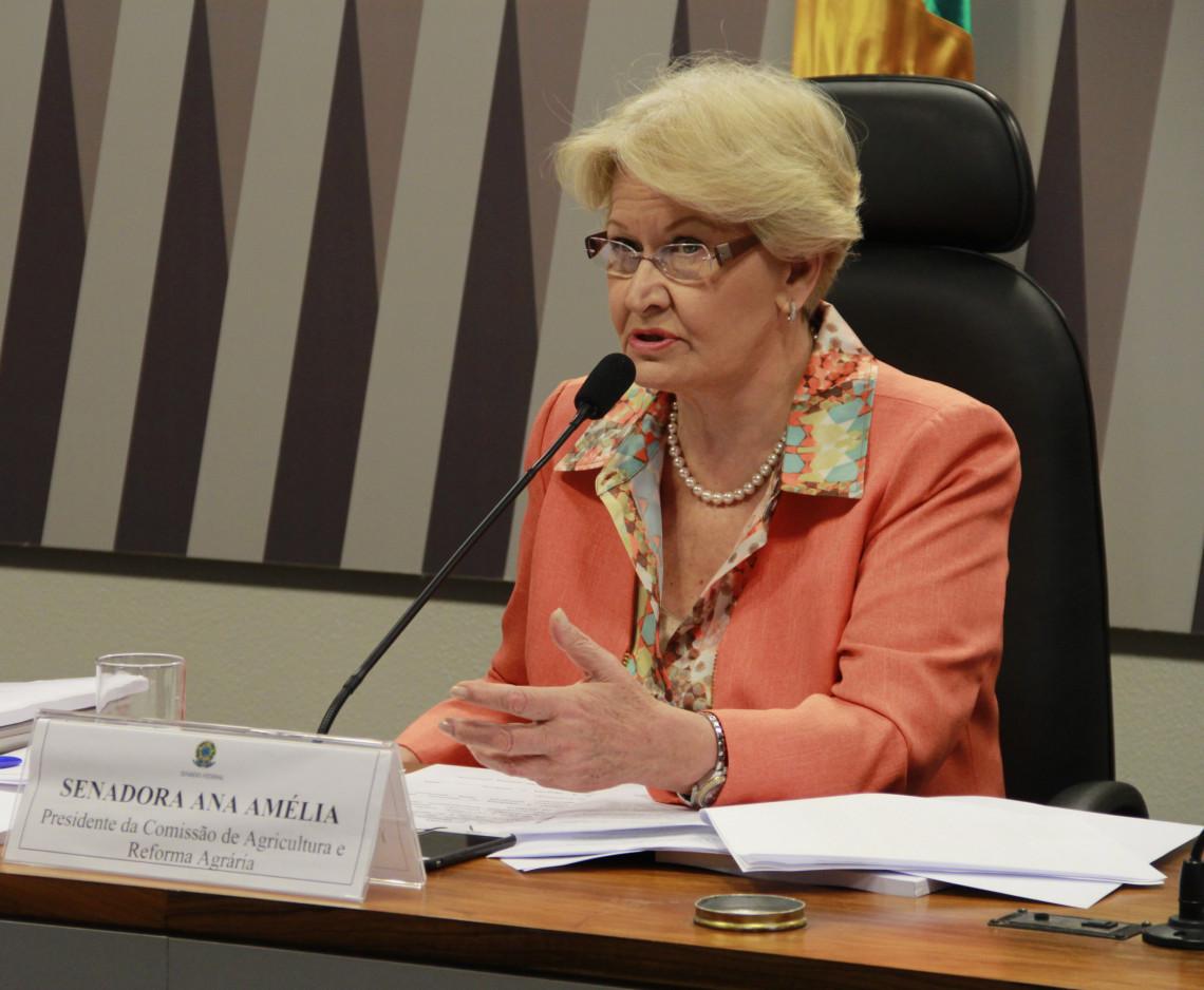 Emenda da senadora Ana Amélia garante mais recursos para subvenção ao seguro rural no Orçamento de 2016