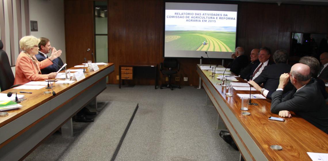 Comissão de Agricultura e Reforma Agrária analisou 118 propostas legislativas em 2015