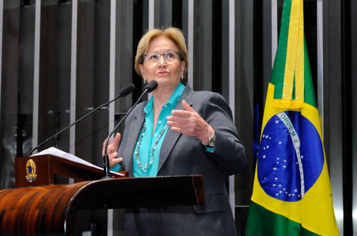 Ana Amélia renova disposição do gabinete em auxiliar municípios atingidos pelas chuvas na Fronteira Oeste