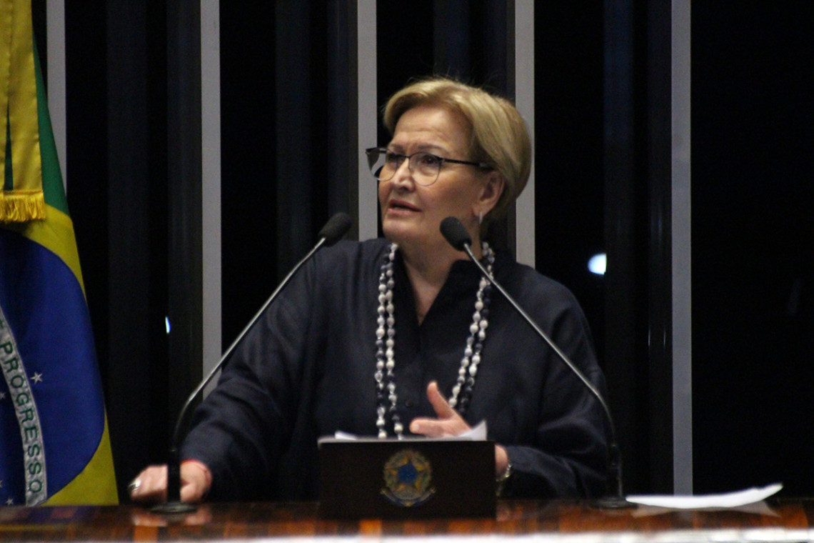 Para Ana Amélia, oposição espalha mentira sobre privatizações