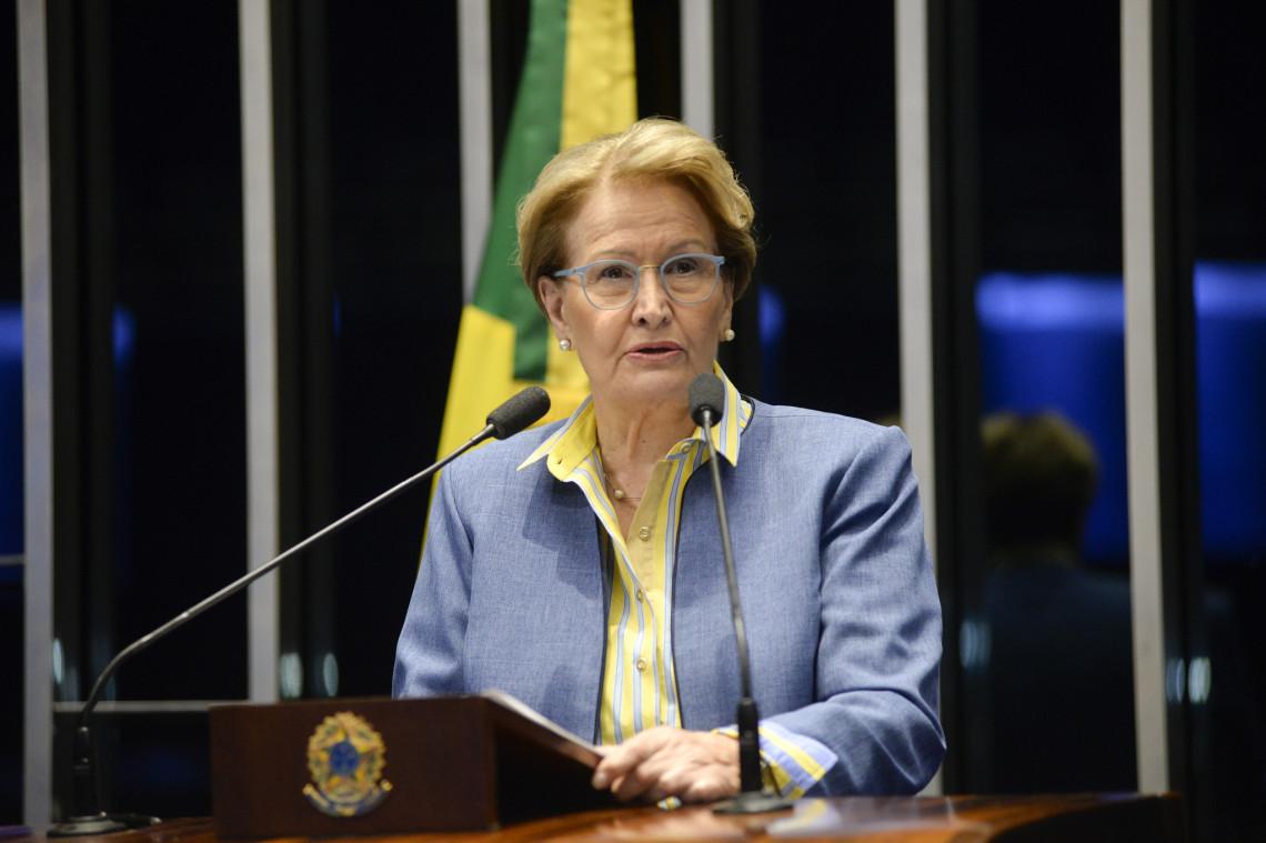 Ana Amélia volta a cobrar auxílio para municípios atingidos pela estiagem no RS