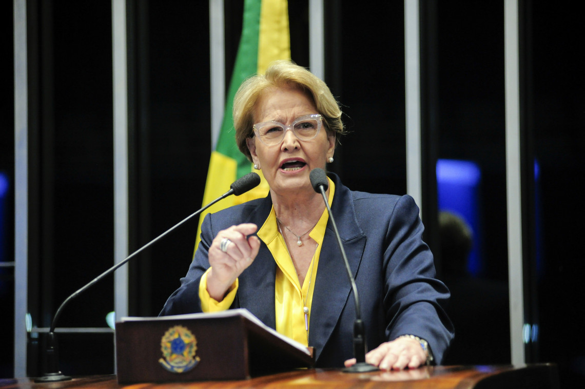 Petistas não vão me transformar em bode expiatório, diz Ana Amélia