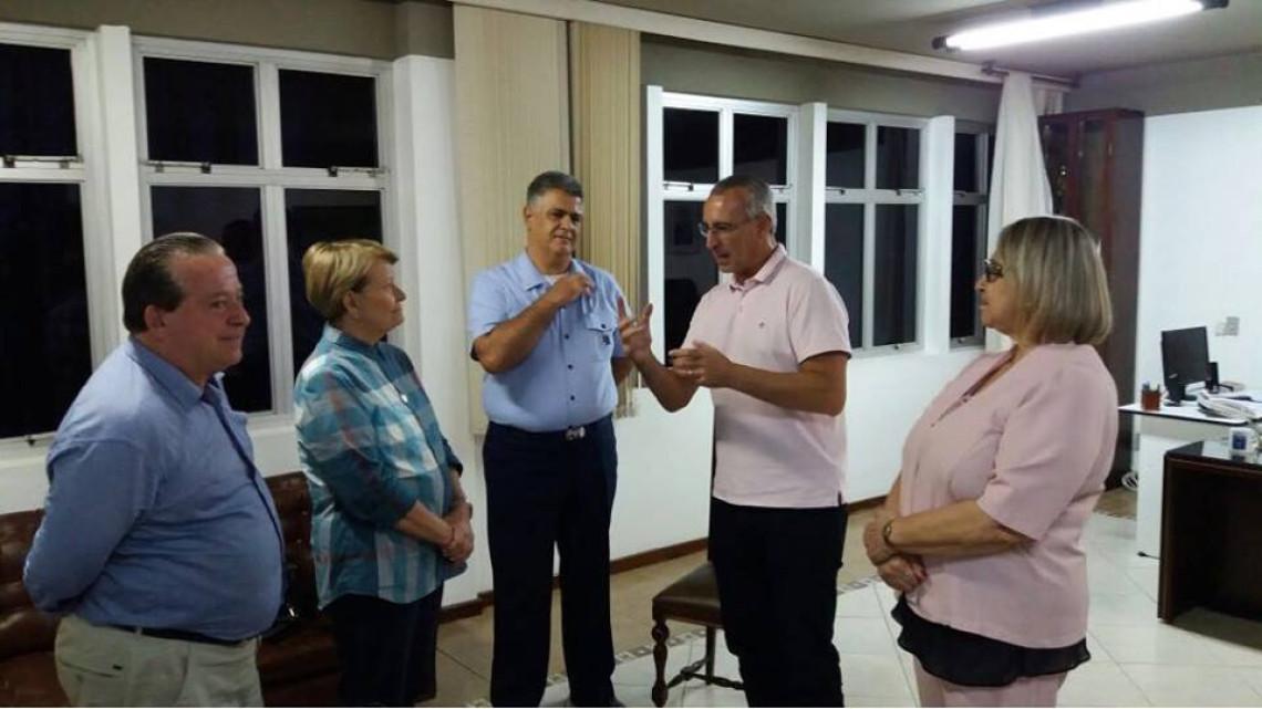 Prefeito de Santa Maria agradece apoio da senadora Ana Amélia para investimentos na Saúde