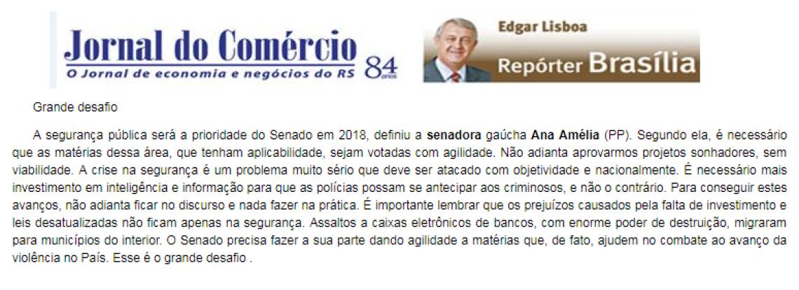 Jornal do Comércio: Edgar Lisboa - Grande Desafio