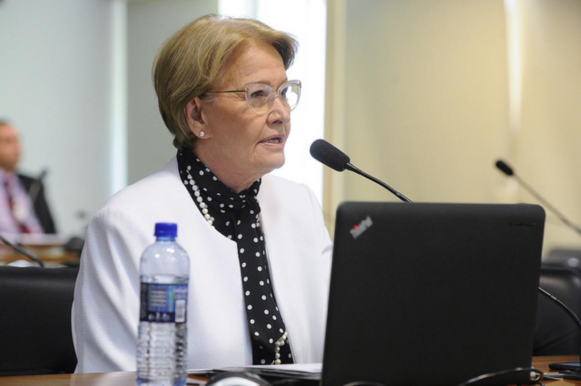 Impedir bancos públicos de renegociar dívida de Funrural é um descalabro, diz Ana Amélia