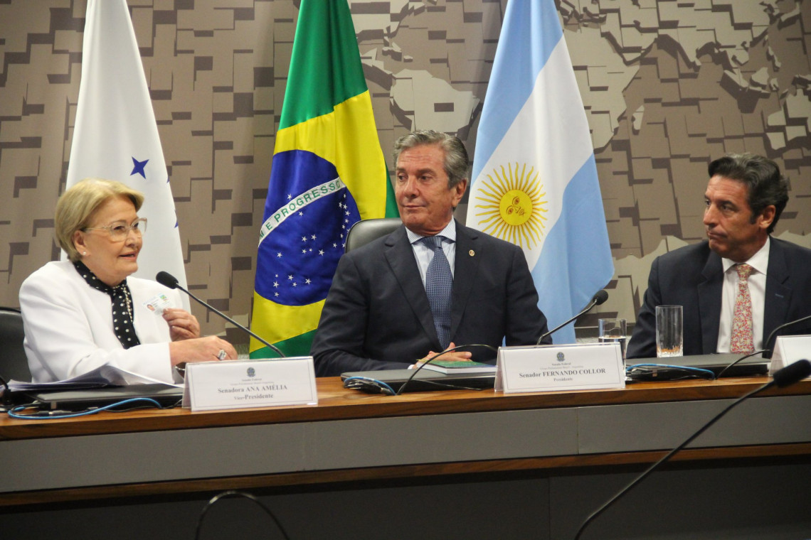 Negociações técnicas entre Brasil e Argentina avançam com ajuda do Legislativo