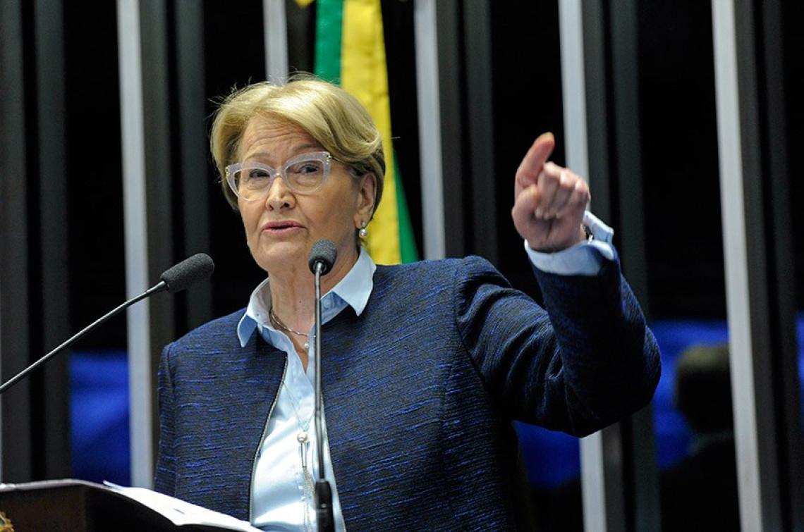 """""""Impedir a impressão do voto nas eleições é decisão desastrosa"""", diz Ana Amélia"""