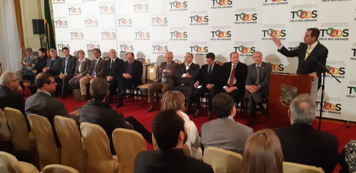 Ministro anuncia mais de R$ 100 milhões para a saúde no Rio Grande do Sul