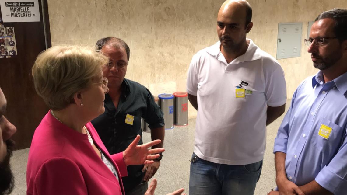Ana Amélia participa de reuniões no Senado e dialoga com caminhoneiros e lideranças do Agro durante mobilização
