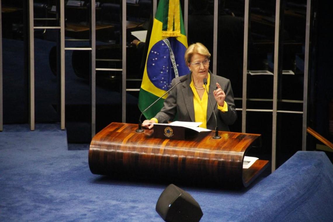 Disputas internas no Judiciário geram instabilidade, diz Ana Amélia