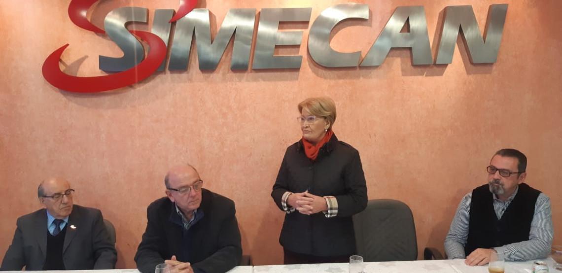 Em conversa com empreendedores, Ana Amélia fala sobre política, economia e eleições