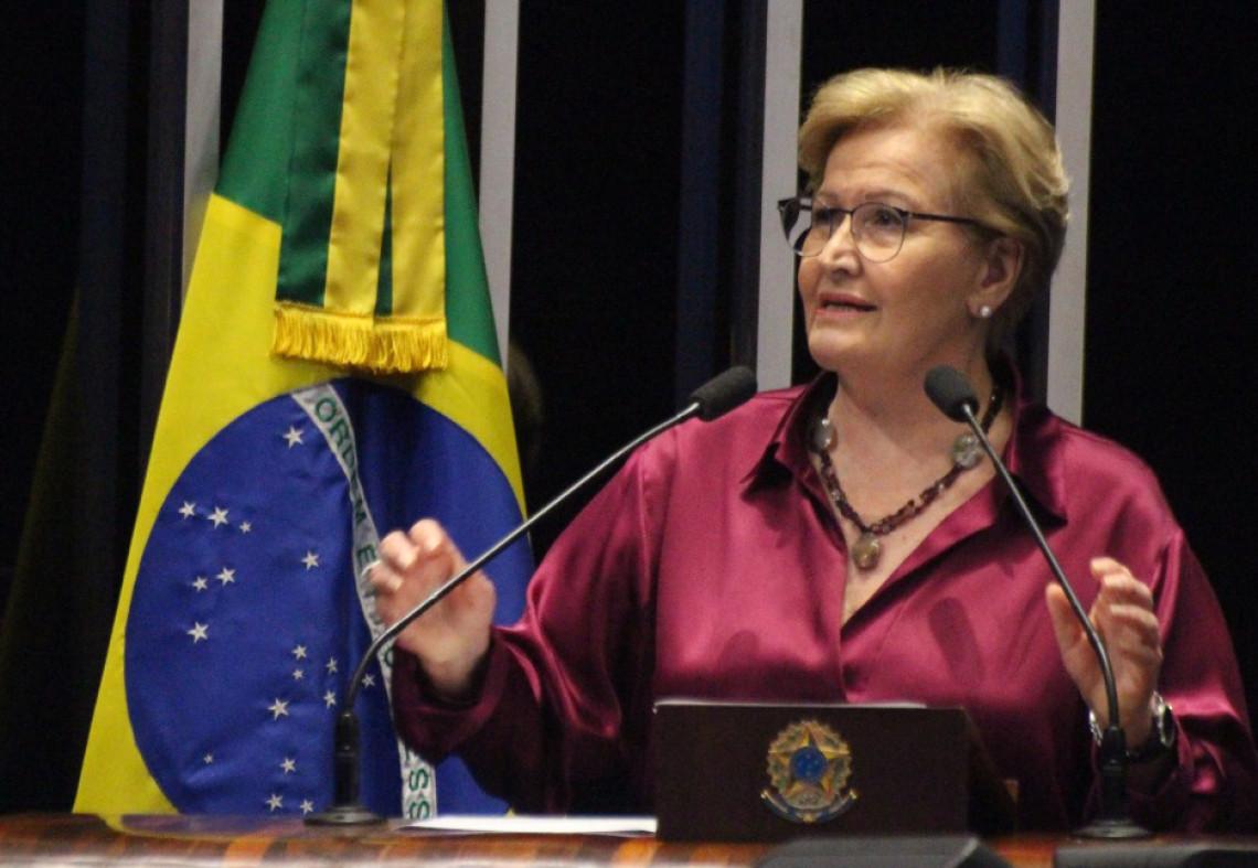Ana Amélia condena ataque criminoso que resultou na destruição de fazenda no oeste da Bahia