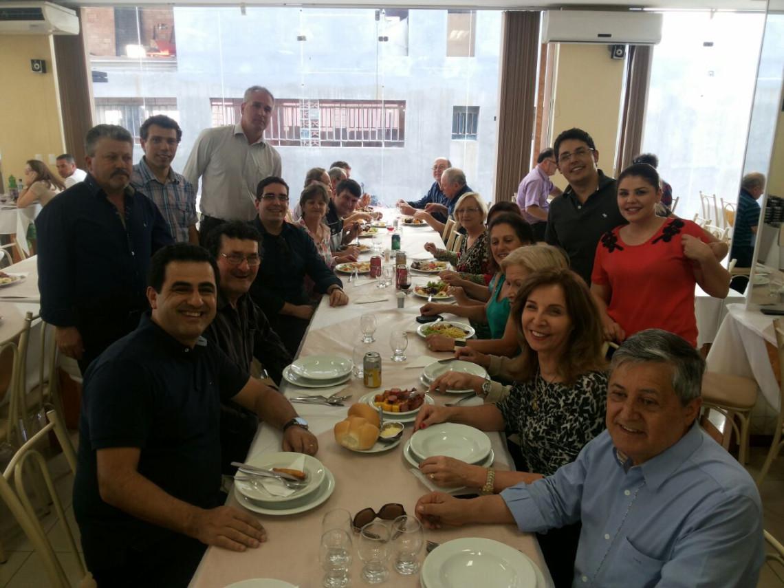 Encontro com progressistas e visita ao Centro Cultural marcam visita a Antônio Prado