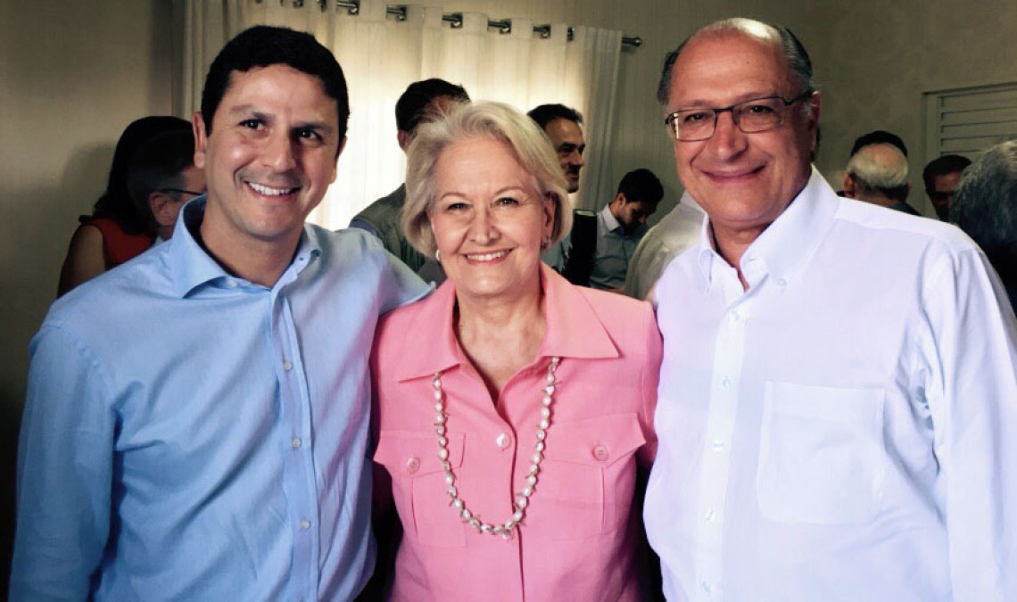 Ana Amélia prestigia filiação do governador Pedro Taques ao PSDB