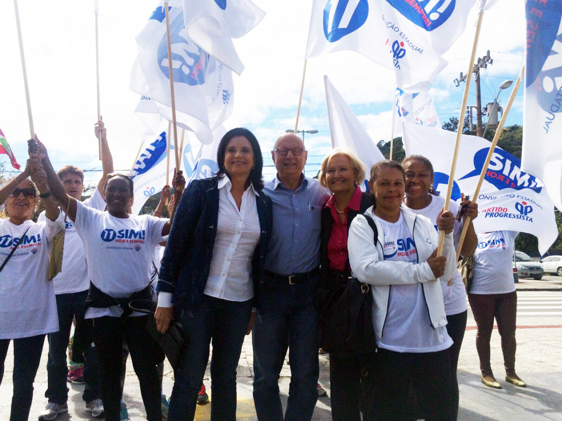 Deputado Esperidião Amin é aclamado novo presidente do PP/SC