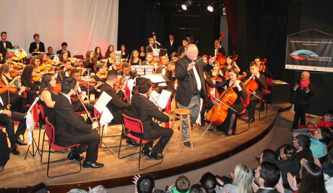 Orquestra Jovem do Rio Grande do Sul faz apresentação em Porto Alegre