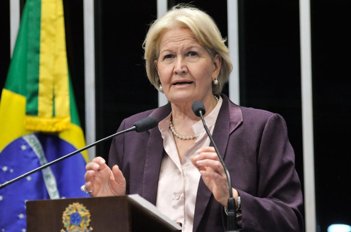 Ana Amélia pede que governo mantenha desoneração por um ano para salvar empregos