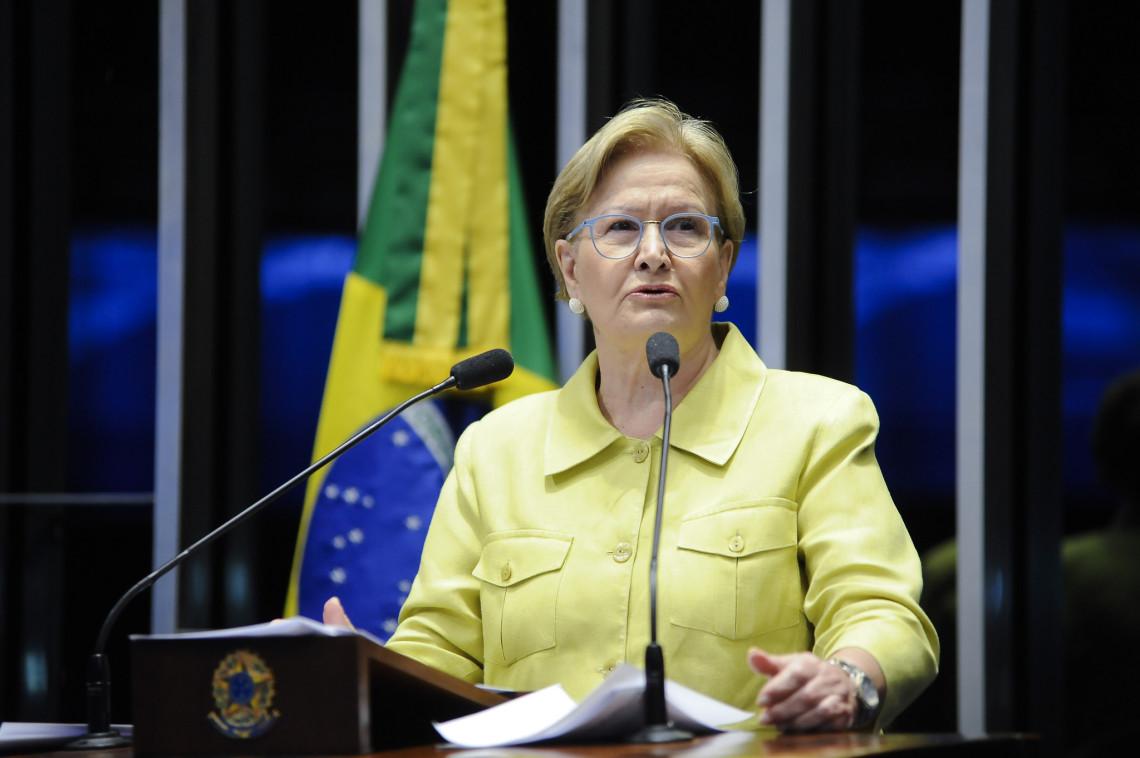 Ana Amélia cobra posicionamento do Congresso Nacional sobre o foro privilegiado e medidas de combate à corrupção