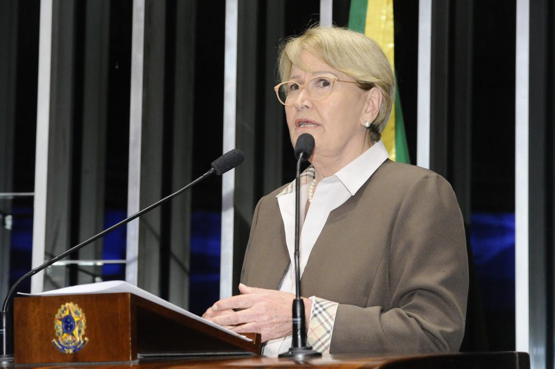 Ana Amélia defende manutenção da prisão em segunda instância