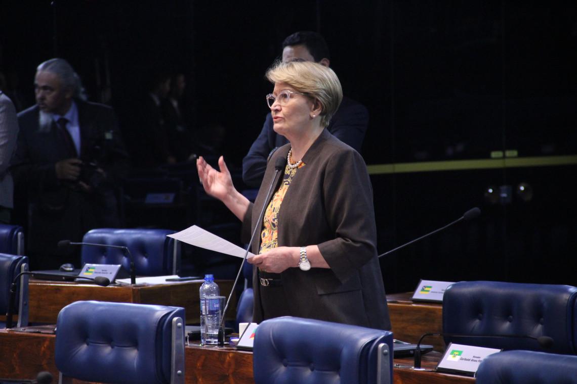 Ana Amélia saúda aliança pela inovação assinada entre três universidades gaúchas